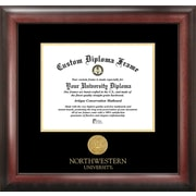 Campus Images NCAA Northwestern University Gold Embossed Diploma Picture Frame
