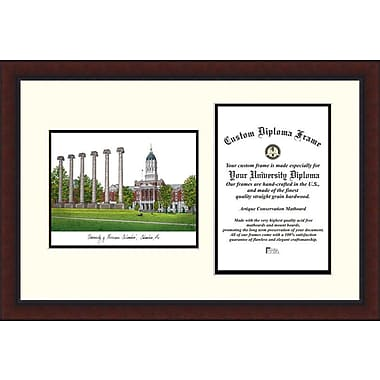 Campus Images NCAA University of Missouri Legacy Scholar Diploma Picture Frame