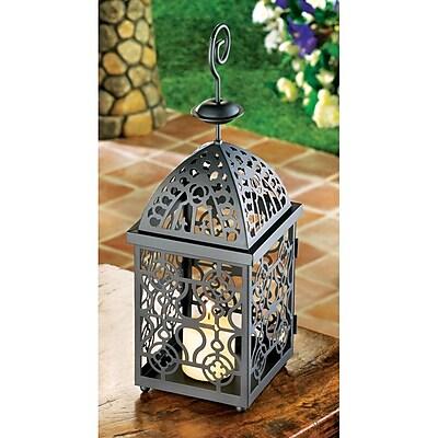 Zingz & Thingz Moroccan Birdcage Iron Lantern