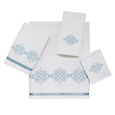 Avanti Linens Riverview 4 Piece Towel Set; White
