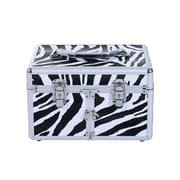 Soozier 3 Tier Lockable Makeup Cosmetic Organizer