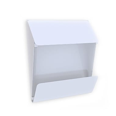 Decorpro X Press Mailbox in a White Finish