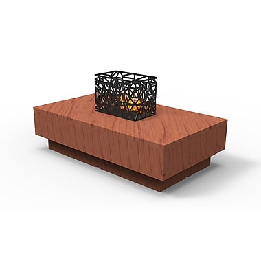 Decorpro Circa Coffee Table, Grand Cherry