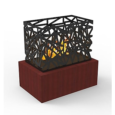 Decorpro Laguna Micro Fireplace, Wild Cherry