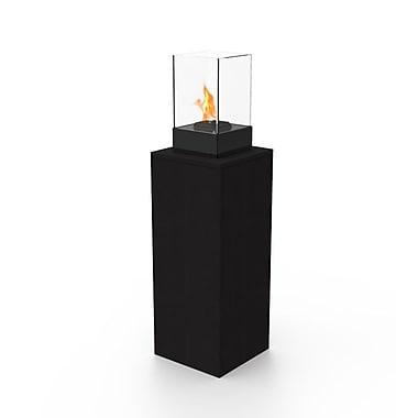 Decorpro Vertikal Micro Bio Ethanol Fireburner In Black