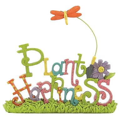 Blossom Bucket Plant Happiness Letter Block