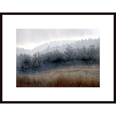 Printfinders 'Foggy Landscape' by John Nakata Framed Photographic Print