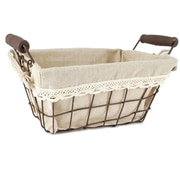 Blossom Bucket Square Wire Basket
