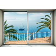 Brewster Home Fashions Tranquillo Wall Mural