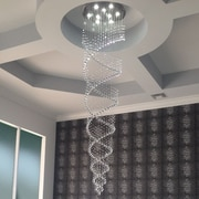 LightUpMyHome 9-Light Crystal Chandelier