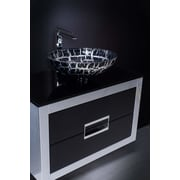 MaestroBath Danya 32'' Bathroom Vanity; Silver