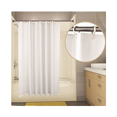 ProPlus Thrif-T-Liner Vinyl Shower Curtain; White