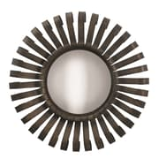 Loon Peak Sunburst Metal Mirror