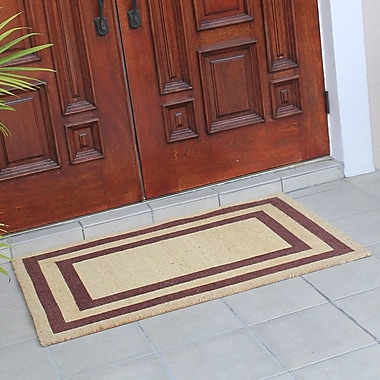 A1 Home Collections LLC First Impression Classic Terrance Doormat