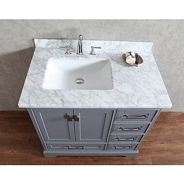 BelvedereBath Signature Series 36'' Single Bathroom Vanity Set