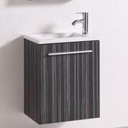 BelvedereBath Signature Series Wall Mounted 20'' Single Bathroom Vanity Set