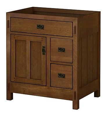 Sagehill American Craftsman 30'' Bathroom Vanity Base