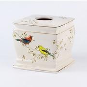 Avanti Linens Gilded Birds Tissue Box Cover