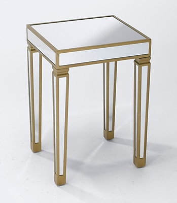 AA Importing End Table; Gold