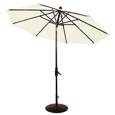 Amauri Outdoor Living, Inc Zuma Shore 9' Market Umbrella; Natural