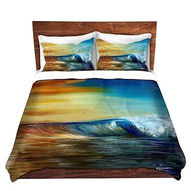 East Urban Home Ocean Wave Duvet Set; Queen