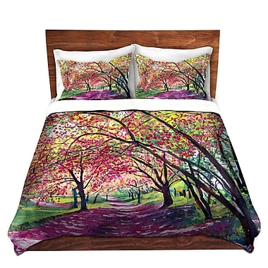 DiaNocheDesigns Lazy Afternoon Central Park Duvet Set; Twin