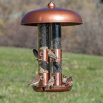 Woodstream Wildbird Triple Tube Bird Feeder (WYF078277049110) photo