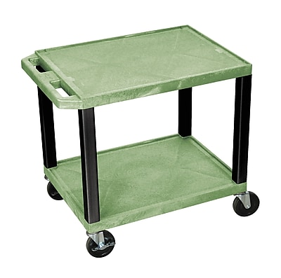 Offex Tuffy Multi-Purpose Utility Cart; Black