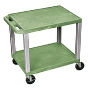 Offex Tuffy Multi-Purpose Utility Cart; Nickel