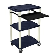 Offex Multipurpose Utility Cart; Putty