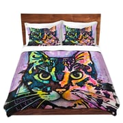 DiaNocheDesigns Maya Cat Duvet Set; Twin