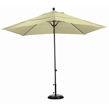 California Umbrella 11' Market Umbrella; Sunbrella A Antique Beige