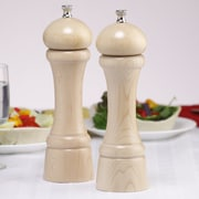 Chef Specialties Windsor Pepper Mill and Salt Mill Set; Natural