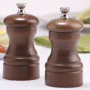 Chef Specialties Capstan Pepper Mill and Salt Mill Set; Walnut