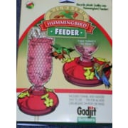 Gadjit Soda Bottle Recycler Hummingbird Feeder