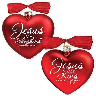 LighthouseChristianProducts 2 Piece King & Shepherd Ornaments Set