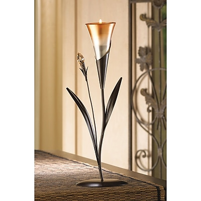 Zingz & Thingz Sparkling Lily Candle Holder WYF078280214825