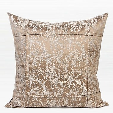 G Home Collection Luxury Abstract Pattern Frame Jacquard Down Feather Insert Throw Pillow