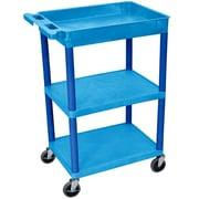 Offex 3 Shelf Utility Cart
