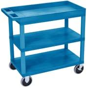 Offex 1 Tub Shelf Utility Cart
