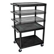 Offex Endura Multi-Height 5 Shelf AV Cart