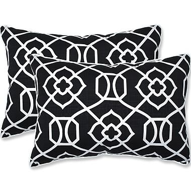 Pillow Perfect Kirkland Outdoor/Indoor Lumbar Pillow (Set of 2); 16.5'' H x 24.5'' W x 5'' D