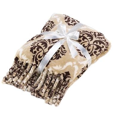 Zingz & Thingz Baroque Tassel Throw Blanket
