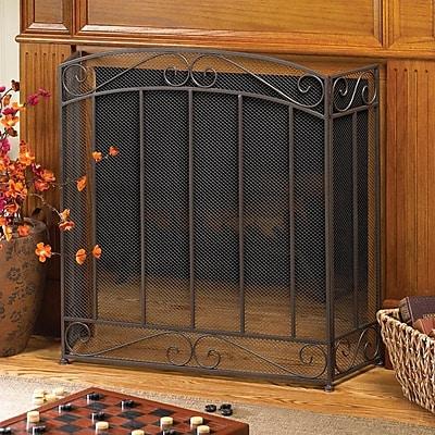 Zingz & Thingz Metal Fireplace Screen