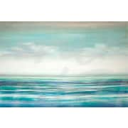 Third and Wall Art Group 'Teal Tides' by Pablo Rojero Painting Print on Wrapped Canvas