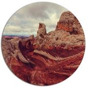 DesignArt 'Beautiful View of Vermillion Cliffs' Landscape Photographic Print on Metal