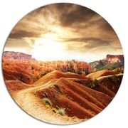 DesignArt 'Beautiful View of Bryce Canyon' African Landscape Photographic Print on Metal