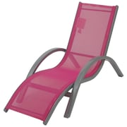 Redmon for Kids Beach Baby  Kids Chaise Lounge; Hot Pink