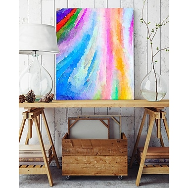 Artzee Designs 'Modern Water Colors' Wall Art on Wrapped Canvas; 20'' H x 20'' W x 0.75'' D