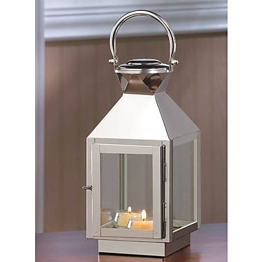 Zingz & Thingz Stainless Steel Lantern; Small